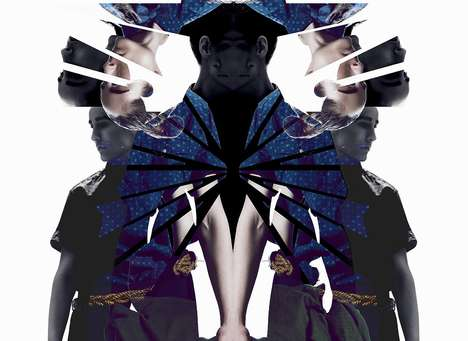 Fragmented Kaleidoscope Editorials - Glassbook's Shatter Fashion Story Plays With Mirrored Imagery