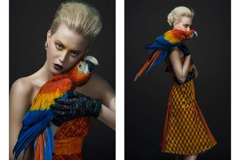 Avian-Inspired Couture Captures - Glassbook