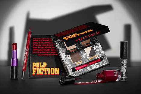 Cinematic Makeup Collections - The Latest Urban Decay Makeup Line Commemorates Pulp Fiction