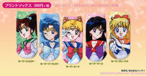 Anime Socks - These Sailor Moon Socks Will Keep Your Feet Adorably Warm