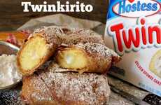 Deep-Fried Twinkie Wraps - The Twinkirito Recipe is a Simple Decadent Dessert