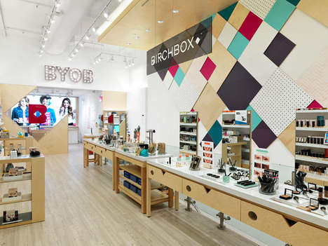 Beauty Subscription Shops - Birchbox's Subscription Service Experience Now Takes the Form of a Shop