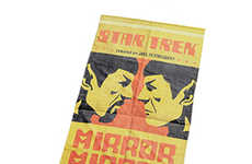Galactic Beach Towels - This Star Trek Beach Towel Celebrates the 'Mirror, Mirror' Episode