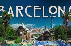 Beguiling Barcelona Timelapses - This Barcelona Time-Lapse Makes the City Look Animated