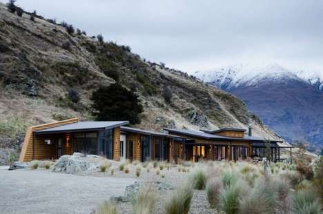 Angled Roof Cabins - The Brewer House by Studio Sarah Scott Architects Embodies a Rustic Style
