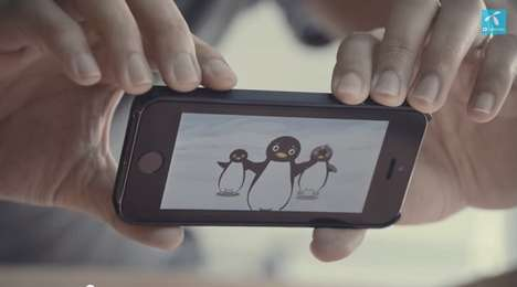 Bawling Baby Ads - This Heartwarming Mobile Ad Proves That Technology Will Never Replace Love