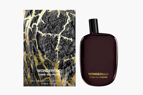 Piquant Men's Perfumes - The COMMES des GARCONS 'Wonderoud' Cologne Smells Like Woody Balsamic Oil