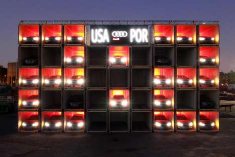 Shipping Container Scoreboards - Audi