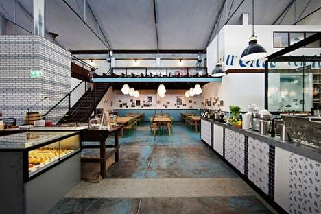 Refurbished Mechanic Eateries - Nic Trimboli's Gordon Street Garage Transforms an Industrial Space