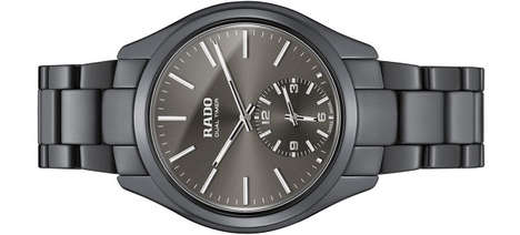 Touch-Sensitive Timepieces - The Rado HyperChrome Adjusts Time with Swiping Gestures, Not Knobs