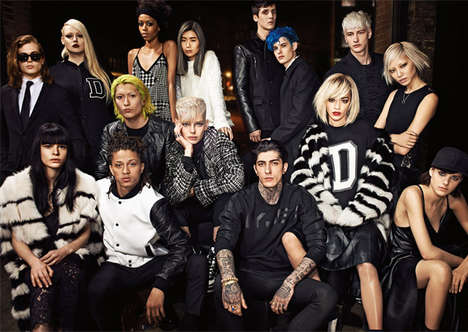 Stylish New Yorker Campaigns - The Authentic DKNY Fall 2014 Campaign Features Real People of NYC