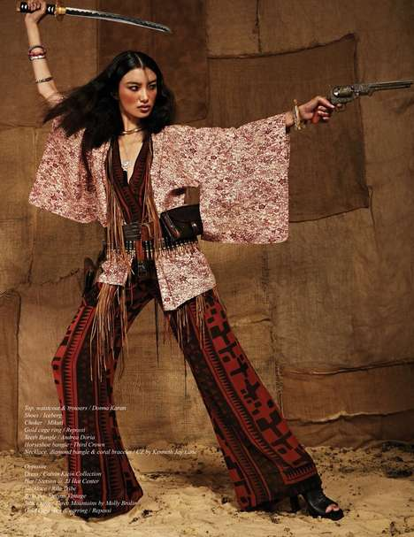 Asian Cowgirl Editorials - The Schon Magazine