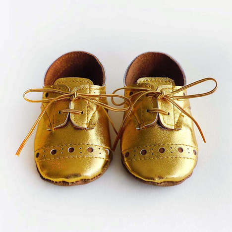 Luxe Infant Accessories - These Baby Shoes by Etsy's Aja Lor Rival Adult Styles