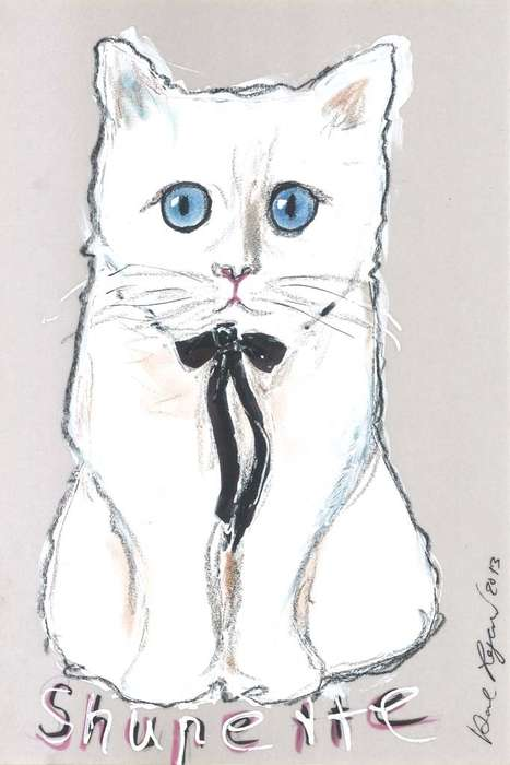 Fashionable Feline Cosmetic Ads - Karl Lagerfeld