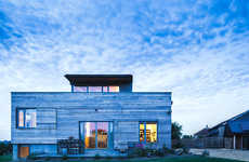 Cedar Rectory Homes - The Stackyard Home is Designed to Look Like a Parsonage