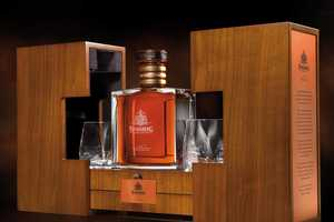 The 125th Anniversary Bundaberg Rum Set Comes with Two Drinking Glasses