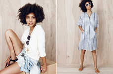 Effortlessly Youthful Fashions - The Joie De Vivre Collection by Madewell Boasts Understated Looks