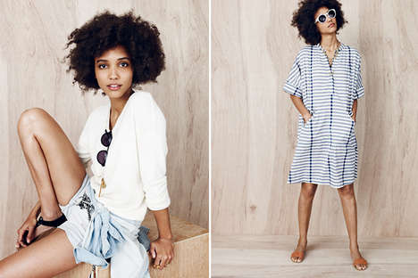Simply Striped Lookbooks - Madewell