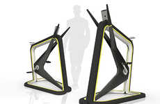 Boxy Stationary Bikes