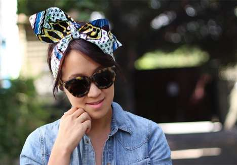 Wax Print Headwraps - This DIY Headwrap is Perfect for Those Hot and Humid Days