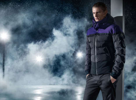 Modern Outdoorsman Campaigns - The Boss Green Fall/Winter 2014/2015 Collection is Weather-Proof
