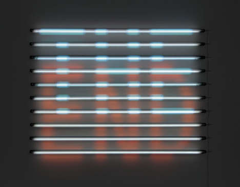 Fluorescent Light Installations - Artist James Clar Creates Luminous Rainbow-Hued Sculptures