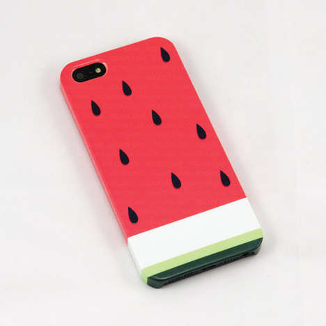 Summer Fruit Tech Accessories - The Watermelon Smartphone Case from Etsy Celebrates the Sweet Snack