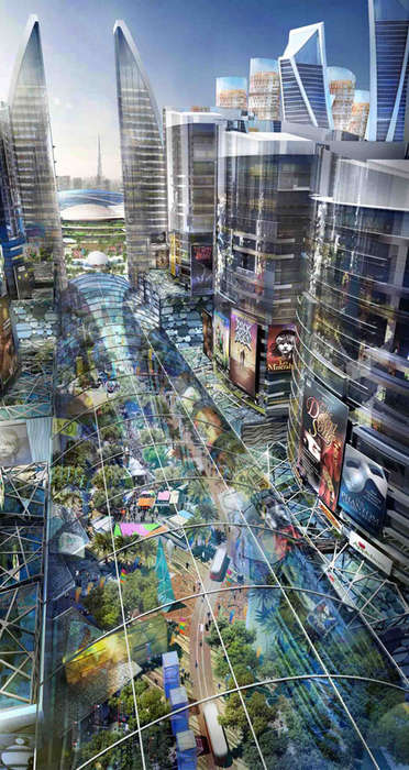 Climate-Controlled Cities - Mall of the World Plans to be the First Indoor City