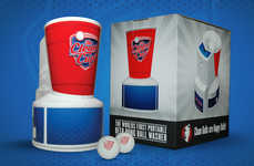 Beer Pong Ball Washers - The Clean Cup Quickly Washes Off Stray Beer Pong Balls