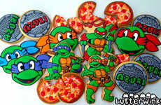Cartoon Turtle Cupcakes