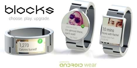 Customizable Smartwatches - Blocks is a Modular Solution for Wearable Technology