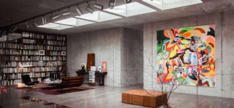 Redecorated German Bunkers - An Art-Collecting Family Now Lives in This Converted Nazi Bunker