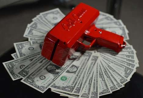 Monetary-Shooting Firearms - The Cash Cannon Will Help You to Make it Rain on a Daily Basis