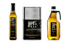 Naturalistic Olive Oil Packaging - Zoo Studio Designs the Branding for Rocarell