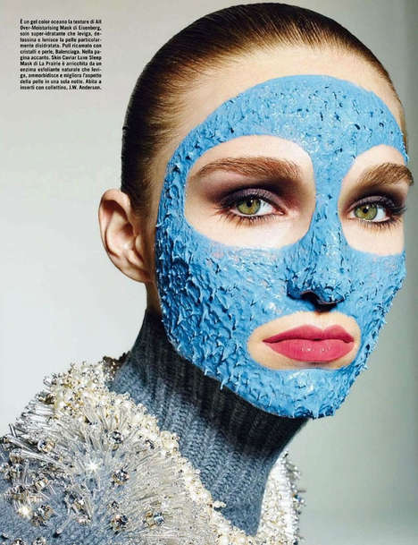 Conceptual Skincare Captures - Vogue Italia Beauty