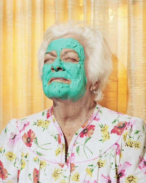 Bizarre Geriatric Photography - Harry Griffin's Old Age Photography Sees Aging in a Different Light