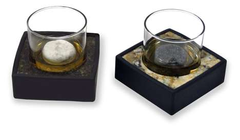 Granite Scotch Chillers - The Sea Stones Drink Chiller Set Ensures Your Drink is On the Rocks