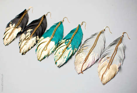 Gold-Dipped Avian Accessories - Etsy