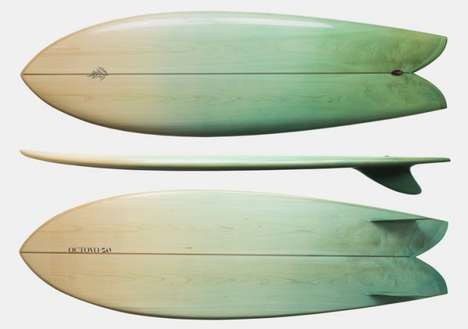 """wooden surfboard design"