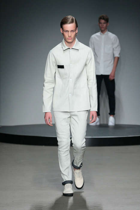 Urban Uniform Attire - The Olaf Hussein Spring/Summer 2015 Collection is Effortlessly Cool