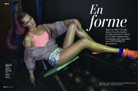Edgy Sporty Editorials - The L'Express Styles