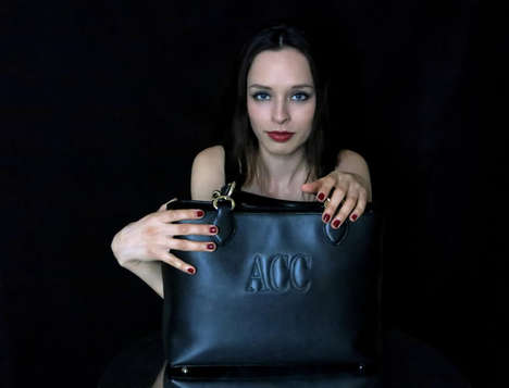 Luxurious Monogram Handbags - The Personalized Bags by Carmin Make Your Name the Focal Point