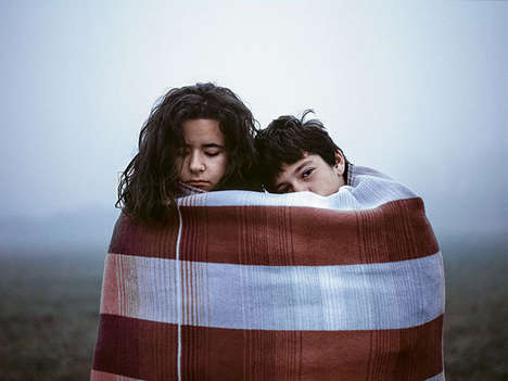 Alluring Adolescent Photography - This Intimate Friendship Photo Series is Nostalgically Sweet