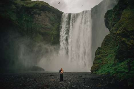 Nordic Nuptial Photography - Gabe McClintock Captures Wedding Photos in Iceland