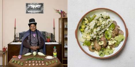 Home-Cooked Meal Photography - Gabriele Galimberti's Series Captures Meals From Grandma