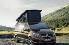 Luxury Camper Vans - Mercedes' Marco Polo is Made for Spacious, Comfortable Van Camping