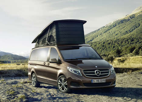 Luxury Camper Vans - Mercedes