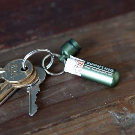 Compact Cash Capsules - These Snug Money Keychain Compartments are Stylish Wallet Alternatives