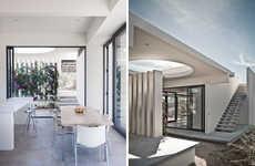 Simplistic Desert Residences - This Desert Home Complements Its Stark Surroundings