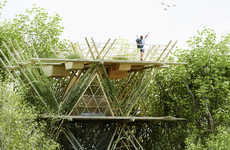 Bamboo Bird-Watching Abodes